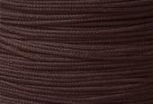 Hilo nylon trenzado 1mm marrón oscuro.(91 metros bobina)