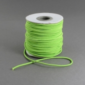 1 Metro. Cordon elastico 2mm verde claro