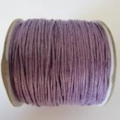 cordon de algodon 1mm. lila. Precio por metro