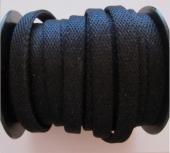 20 cms. Tira tejido negro con brillo 9x3mm.