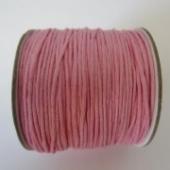 Cordon de algodon 1mm rosa bebe. Precio por metro