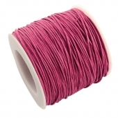 cordon de algodon 1mm. rosa fuerte. Precio por metro