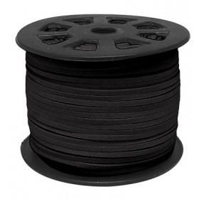 1 metro. Antelina negra 2,5mm.
