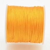 Hilo nylon trenzado 1mm amarillo. (91 metros bobina)
