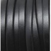 20 cms. Cuero plano 5x1,5mm. negro. Calidad superior