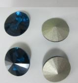 Chatón acrilico 16mm zircon blue