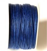 Cordón de algodón 1mm. azul marino Precio por metro