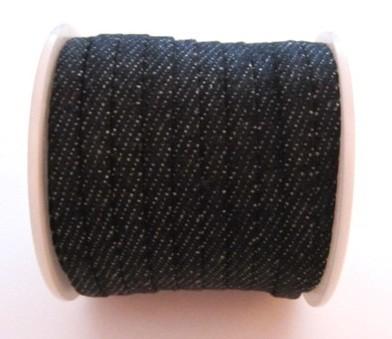20 cms. Tira tejido gris oscuro 5x1,8mm.