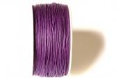 Cordón de algodón 1mm. violeta Precio por metro