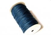 Cordon de algodón 2mm color azul marino. 1 metro
