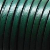20 cms. Cuero plano 5x1,5mm.Verde botella borde negro. Calidad superior