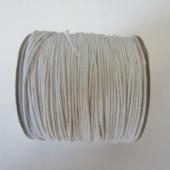 Cordón de algodón 1mm. blanco. Precio por metro