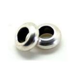 Bolas, rondeles y tubos - zamañ baño plata