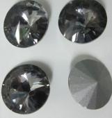 Chatón acrilico 16mm silver night