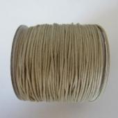 Cordón de algodón 1mm. beige. Precio por metro