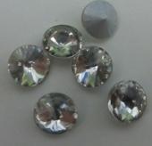 Chatón acrilico 8mm cristal