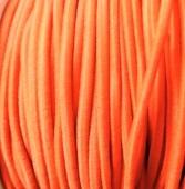 1 metro. cordon elastico 2mm naranja flúor