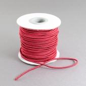 1 metro. cordon elastico 2mm rojo
