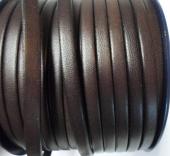 20 cms. Cuero plano 5x1,5mm. marrón. Calidad superio