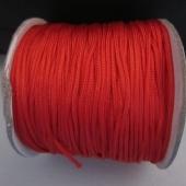 Hilo de nylon trenzado 1,5mm rojo.