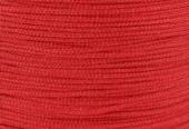 Hilo nylon trenzado 1mm rojo. (91 metros bobina)