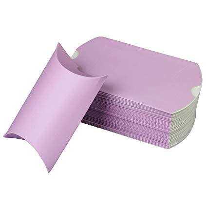 Cajita en forma de petaca lila Tamaño 8x13x4cm