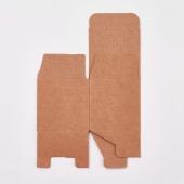 Cajita papel Kraft marrón cuadrada 5x5x5cm
